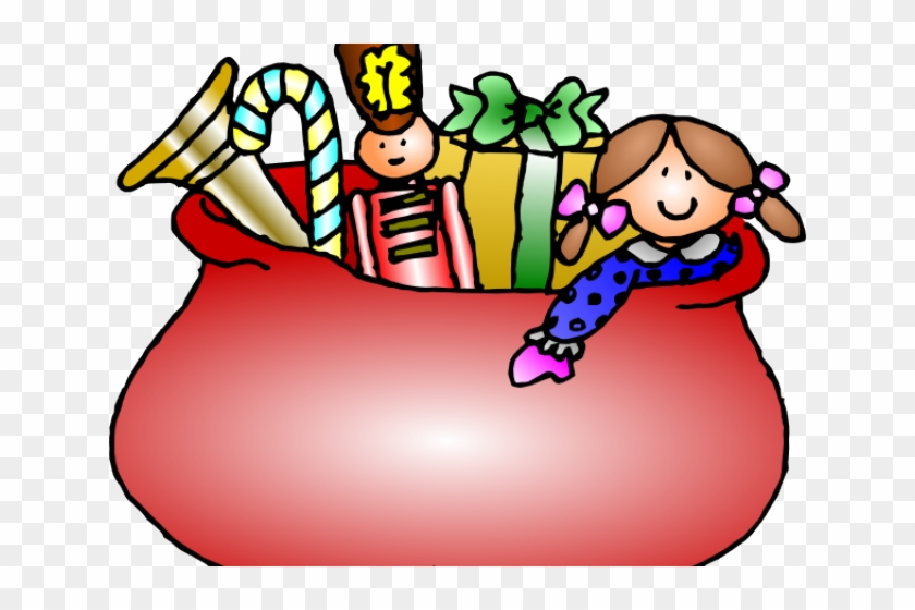 Santa Bag Cliparts - Christmas Toys Clip Art #309113