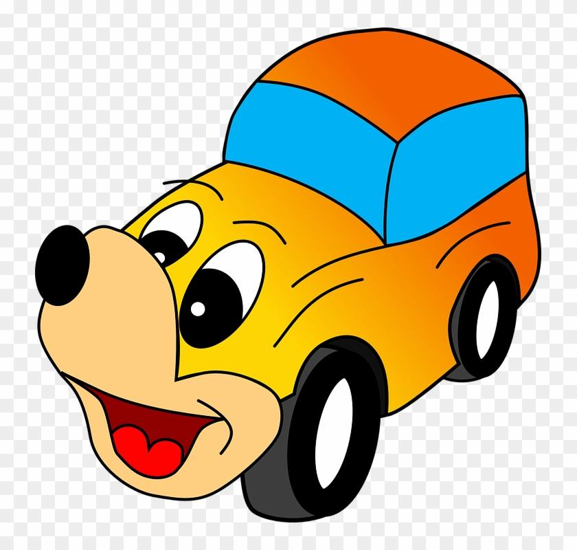 Car Cartoon Picture Gambar Mobil Lucu Kartun Free Transparent