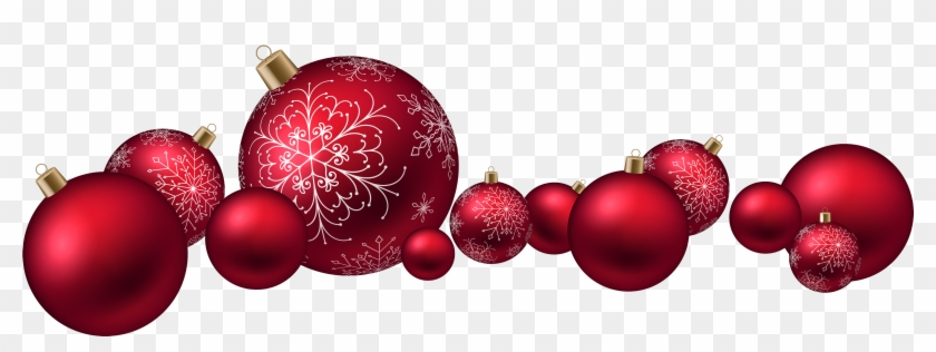 red christmas ball png clipart red christmas balls png - Red Christmas Balls