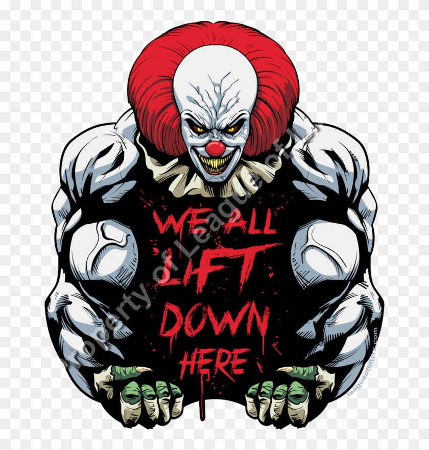 'gym Shirts For Characters That Definitely Don't Lift - We All Lift Down Here #309286