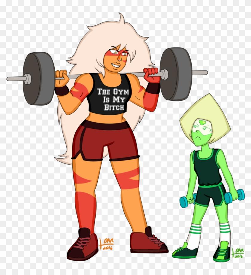 Pe With Peridot - Steven Universe Weight Lifting #309309