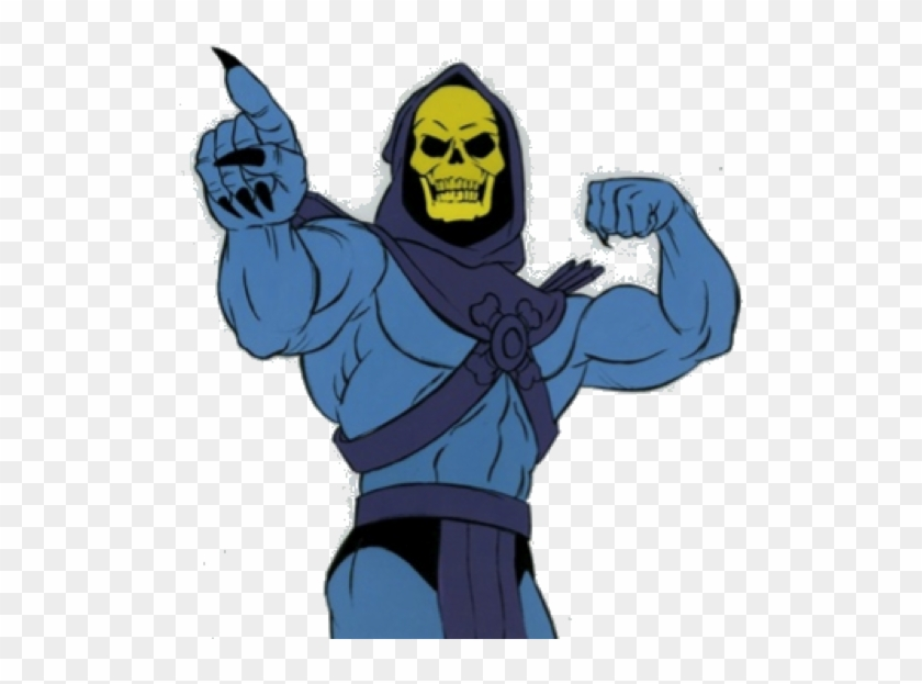 Post Recruit Training I Expanded My Depth Of Knowledge - Skeletor He Man Cartoon #309310