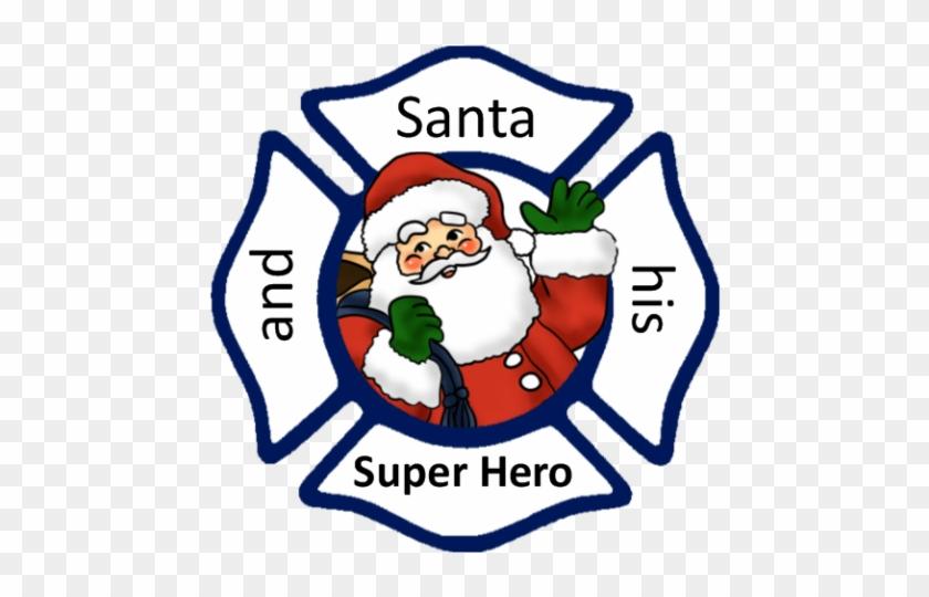 Best Children's Christmas Kids Books Santa Superhero - Maltese Cross Clip Art #309425