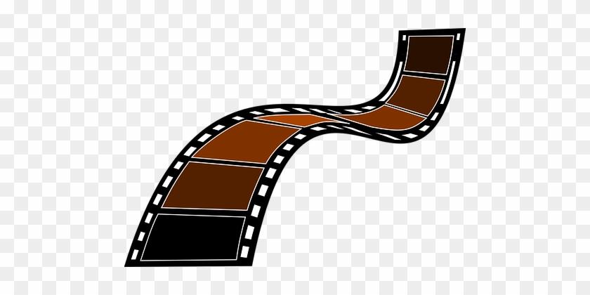 Slide Transparency Photography Film Brown - Film Strip Clip Art #309458