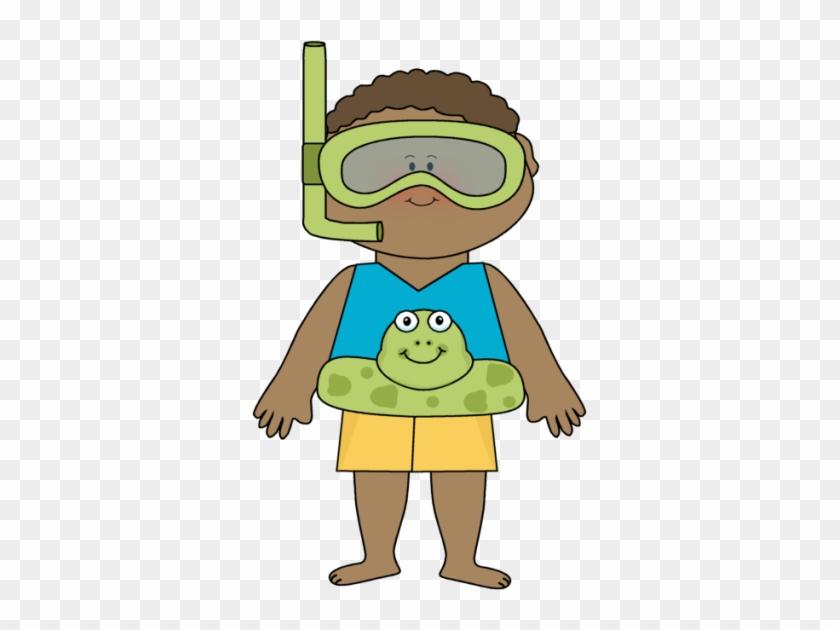 Summer Kids Clip Art - He Is Wearing Shorts #309481