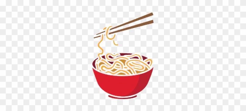 Marco Polo Noodles - Ramen Noodles Cartoon