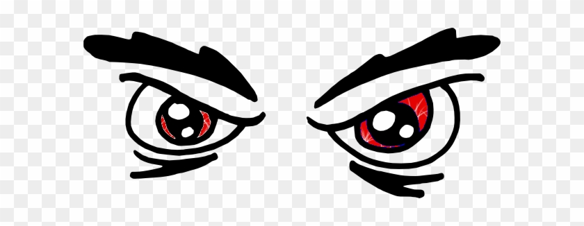 1290167488799525804angry Eyes - Angry Eyes Clip Art #309685