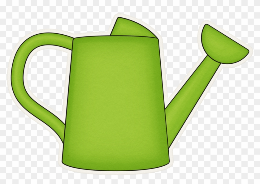 B *✿*veggie Garden - Green Watering Can Clipart #309925