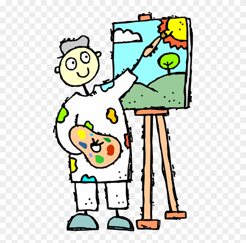 Get Out Your Water Paints Kids Love To Paint Here Is - Art Syllabus For Class 2 #310293