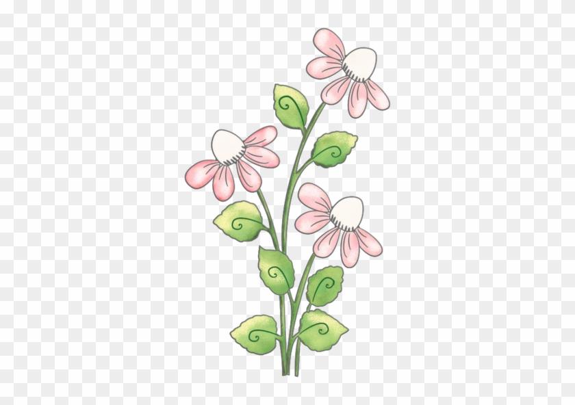 Flores Png - Flores Dibujo Fondo Transparente #310361