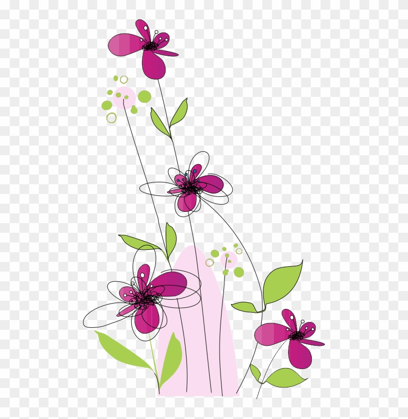 Flower Illustrations, Floral Patterns, Png, Nailart, - Msg For Sunday Morning #310465