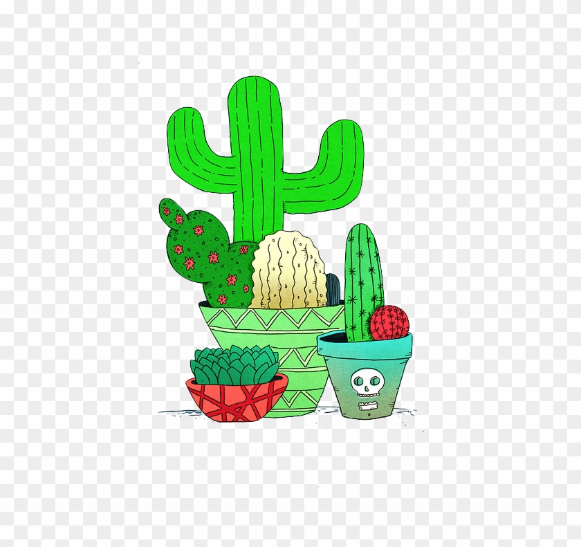 Tumblr Transparent Overlay - Overlays Transparent Tumblr Cactus