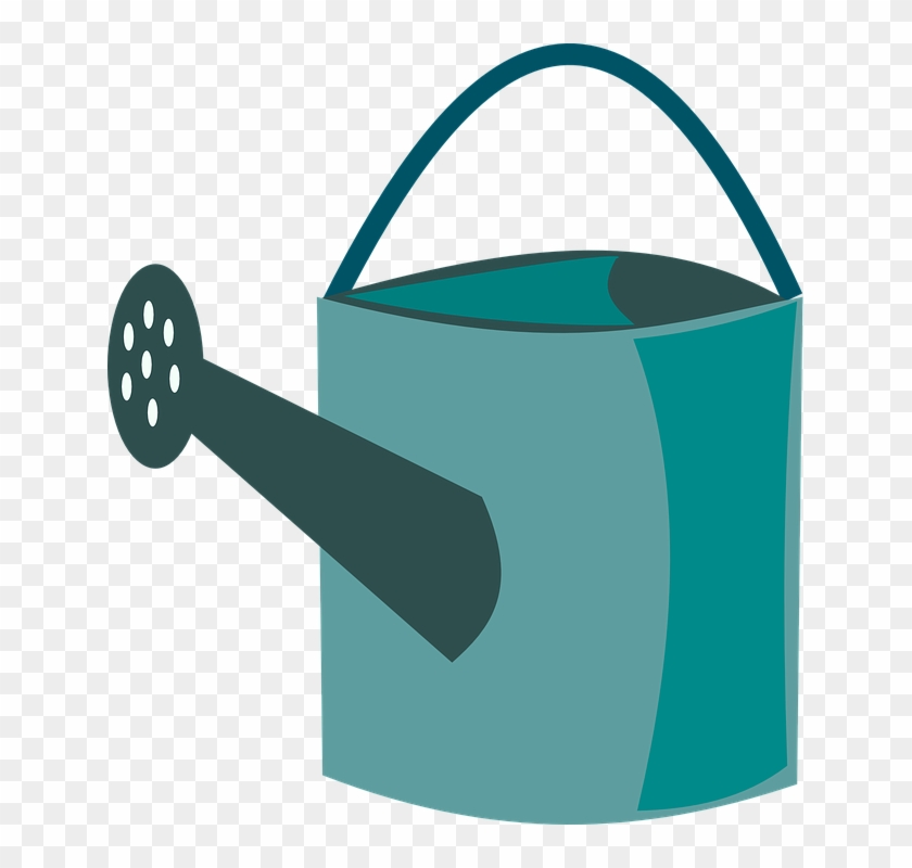 Green, Ewer, Water, Yellow, Tool, Can - Watering Can Clipart Png #310531