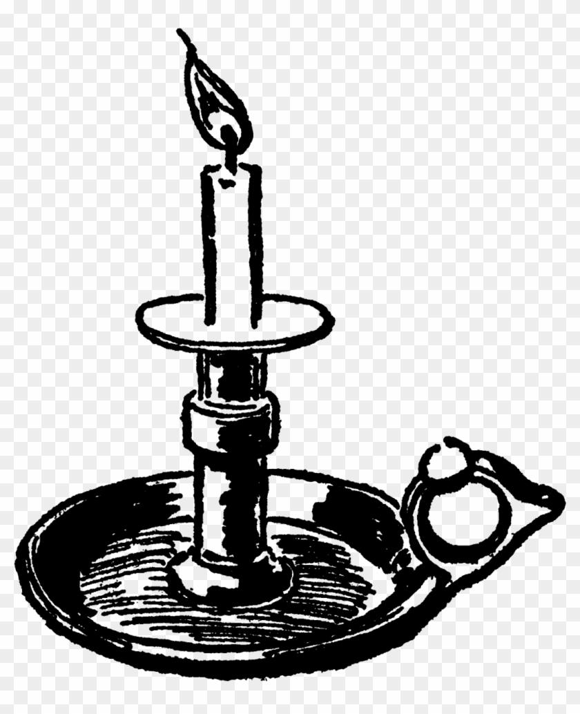 Free Clipart Lilin Natal Hitam Putih Untuk Dekorasi   Candle ...