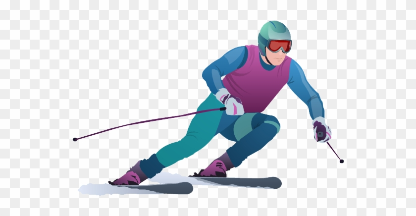 Download Skiing Clipart Hq Png Image - Sports In The Winter Olympics #310952
