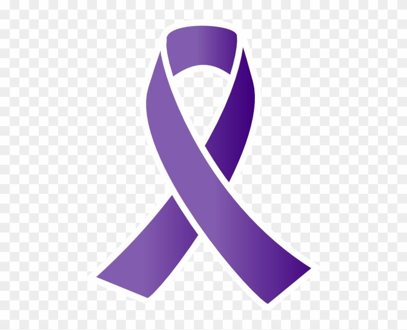 purple awareness ribbon clip art at clker com vector domestic
