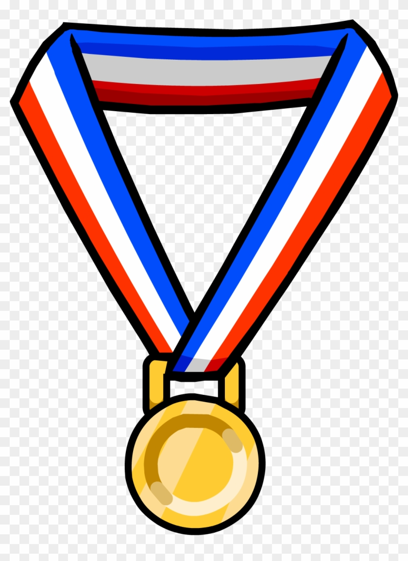 Unique Olympic Games Clipart School Medal File Free - Neck Items Club Penguin #311160