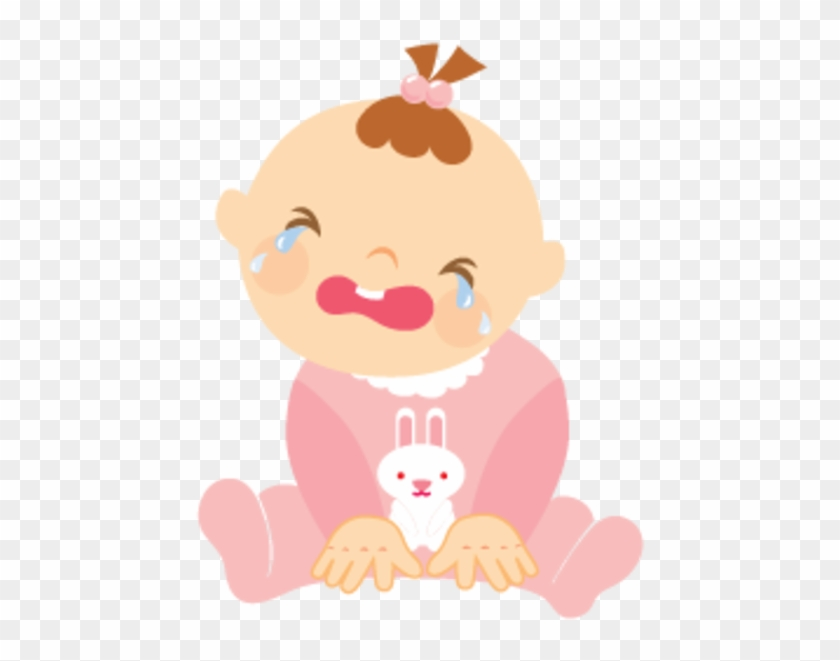 Baby Girl Crying - Crying Baby Clipart #311224
