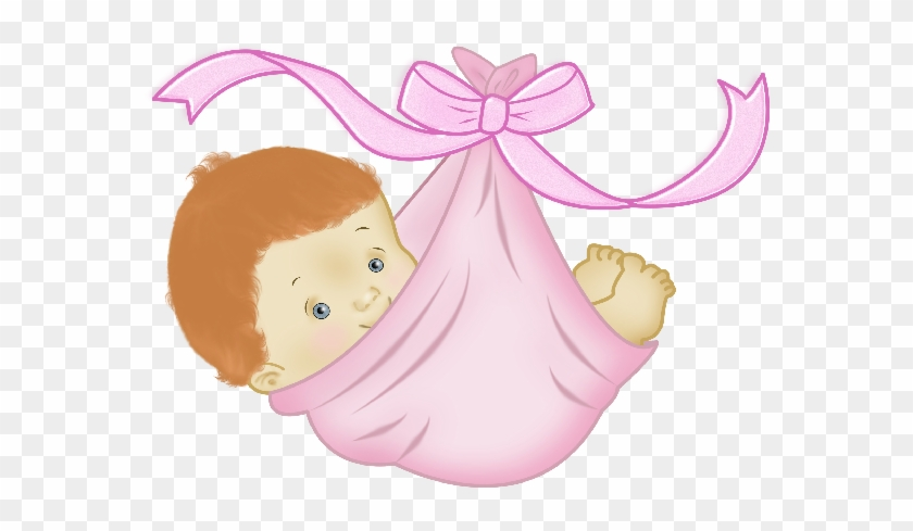 Baby Girl Sleeping Clipart - Baby Girl With Family Cartoon #311239