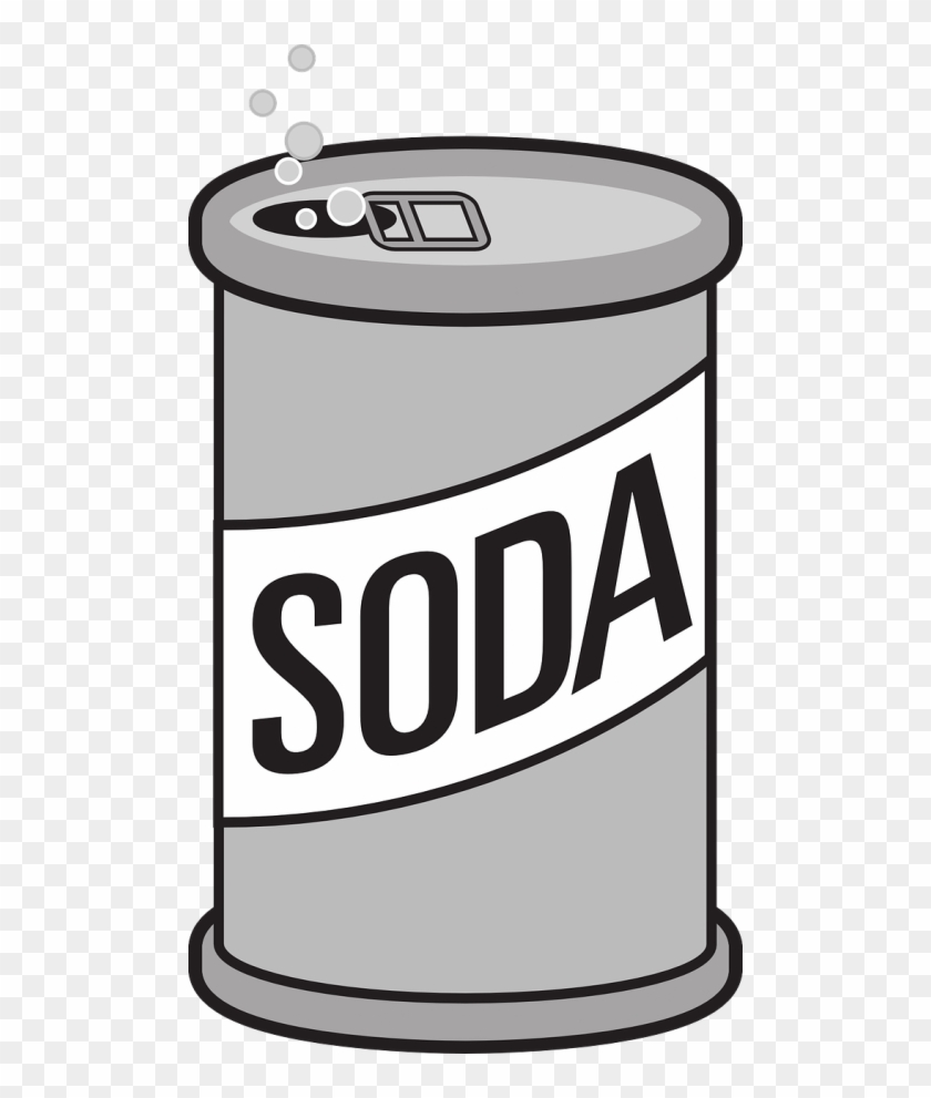 Space Page 163 Soda - Soda Can Clip Art #311254