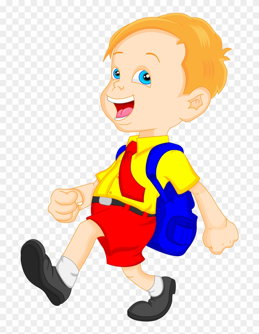 Explore Cute Clipart, Clip Art, And More - Students With School Bags Clip Art #311268