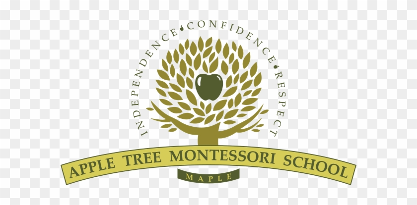 Apple Tree Montessori School - School Logo Design Samples #311517