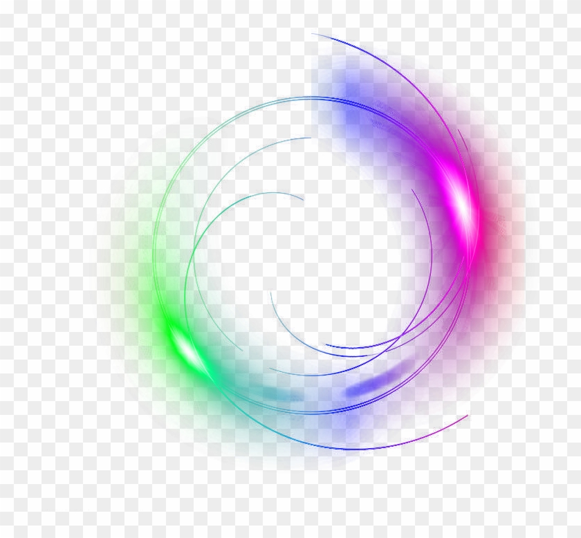 Circle Glow Lighteffect Ftestickers - Circle Glow Png - Free