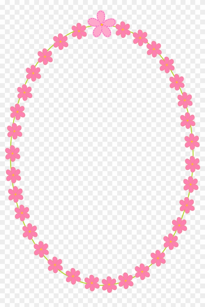White And Pink Flowers Border Png - Merry Christmas From Our Family To Yours #312171