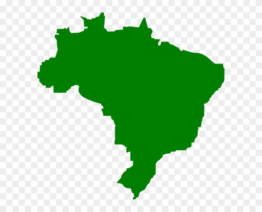 Teste Clip Art At Clker - Brazil Map Clipart - Free Transparent PNG ...