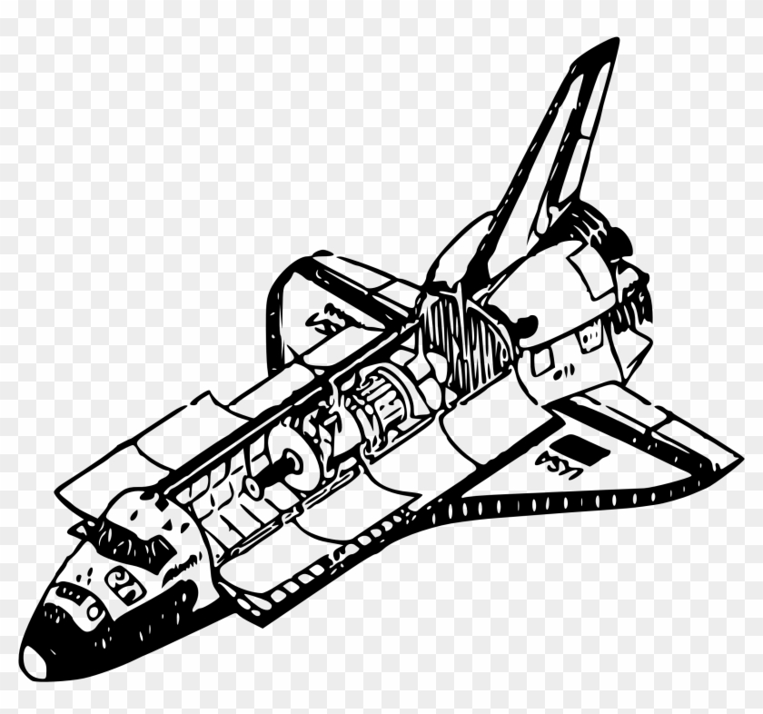Space Shuttle Coloring Pages Thermal Rejection In Space