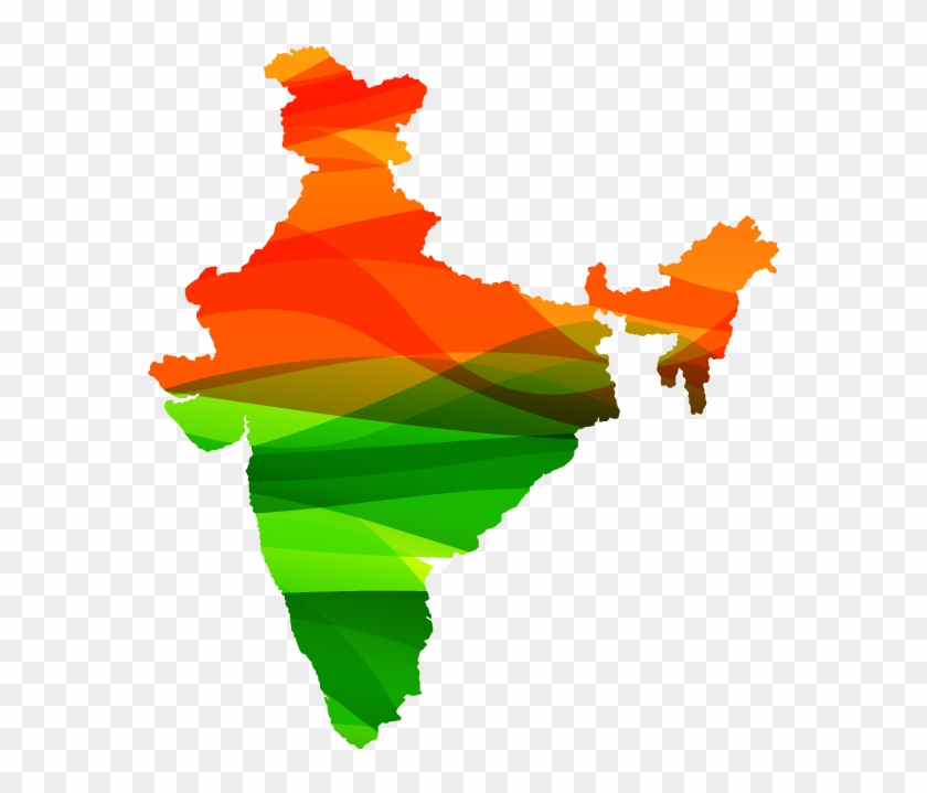 Contact Us India Map Png Vector Free Transparent Png Clipart - India-us-map