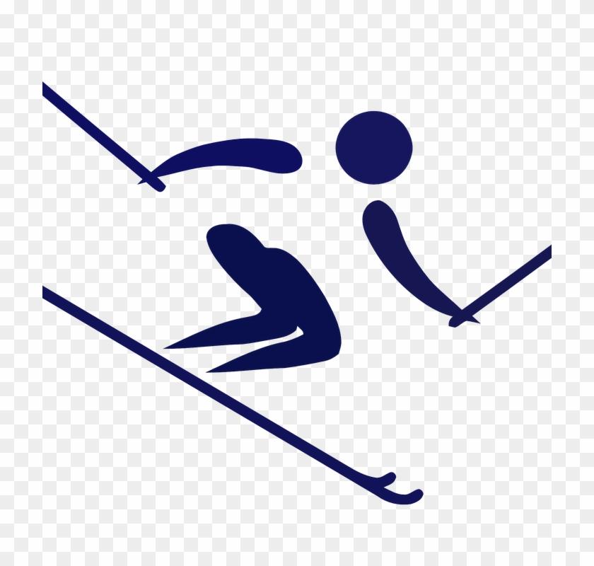 Family Skiing Cliparts 18, Buy Clip Art - Alpine Skiing #312561