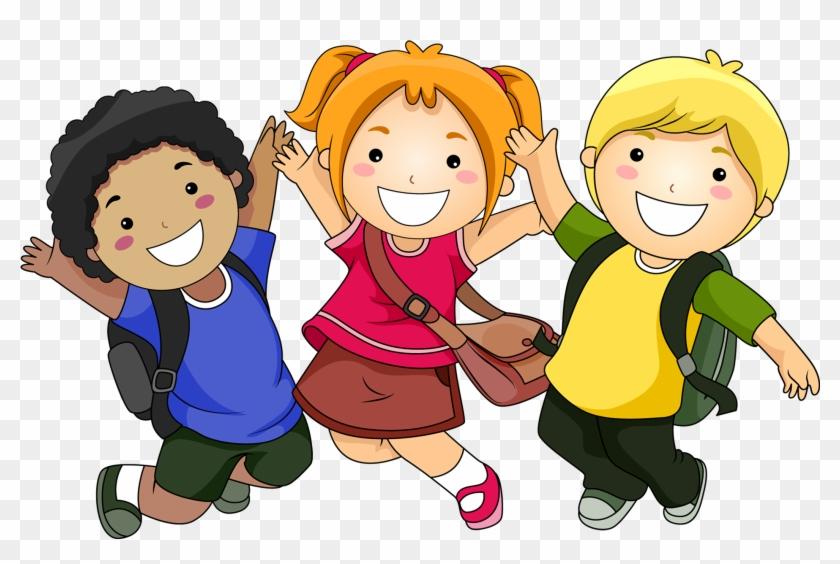 Cartoon Child Clip Art - Scissor Skills And Tracing Skills Activity Book #312652