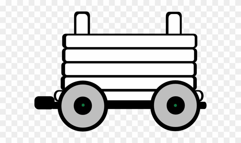 Clipart Train With 3 Carriages #312664