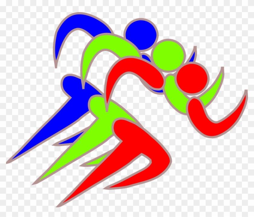 Runners Clip Art - Runner Logo Clip Art #312675