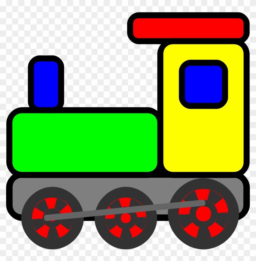 Clipart - Clip Art Toy Train #312701