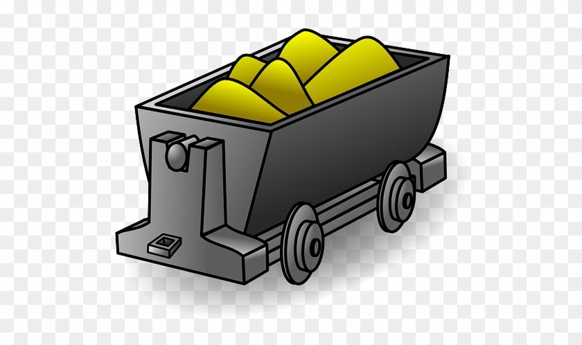 Money Train Wagon Gold Track
