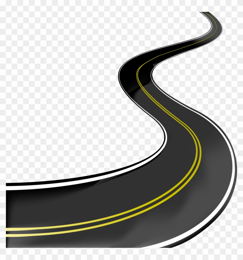 Road Highway Clip Art - Road Vector Png #312748