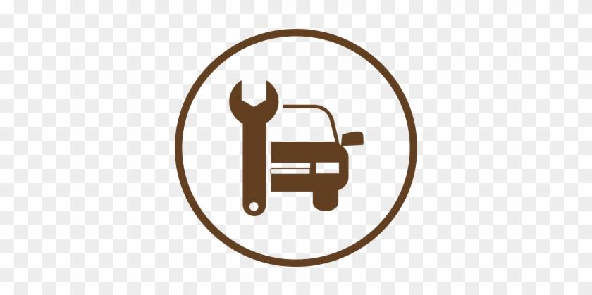 Auto Repair Shop, Transmission Service, Alignments - Car Repair Icon #312762