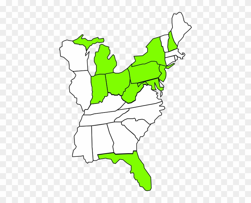east coast map clip art at clkercom vector moab utah us map free