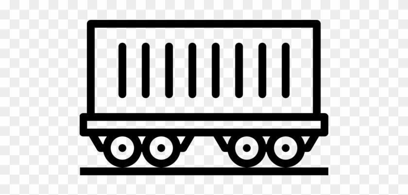 Coach, Train, Railway, Carriage, Track, Transport, - Train Track Icon #312966