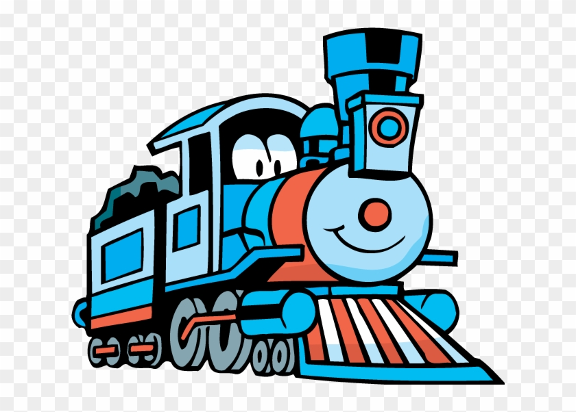 Cute Toy Train Old Engine Locomotive Design Element - Coloring Book Of Trains #313152