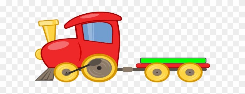 Cartoon Toy Train #313492