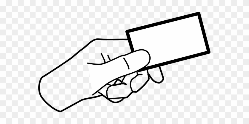 Hand Card Holding Giving Ticket Business C - Set Up A Coffee Roasting Business #313795