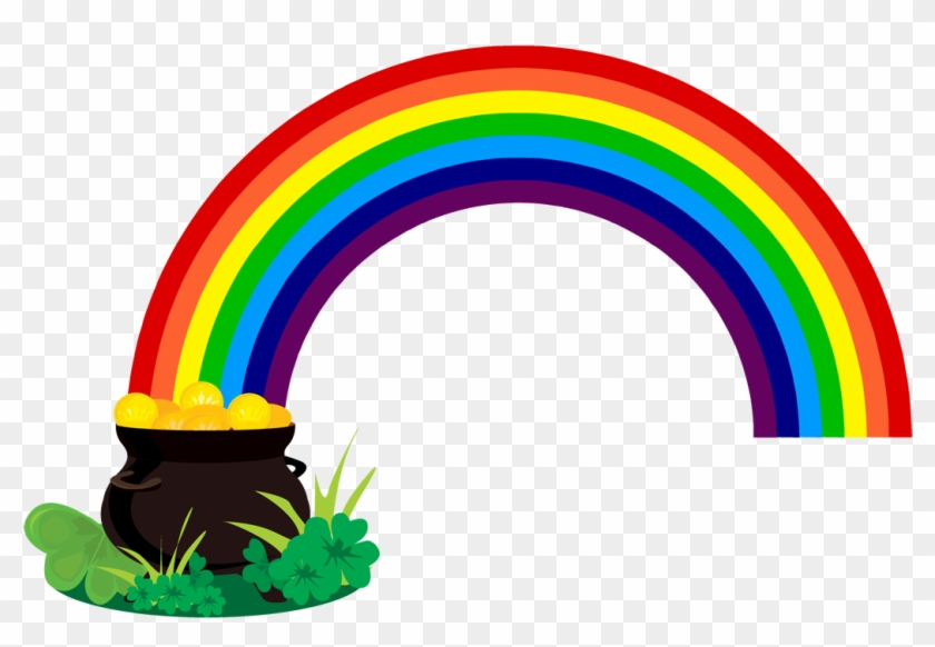 Rainbow With Pot Of Gold Clipart Black And White - Democracy In South Africa #314450
