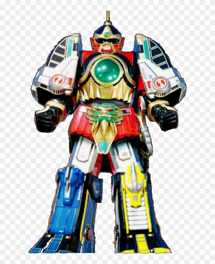 Thunder Megazord - Power Rangers Thunder Megazord #314590
