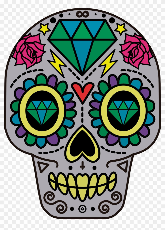 Big Image - Sugar Skulls With Diamonds #314605