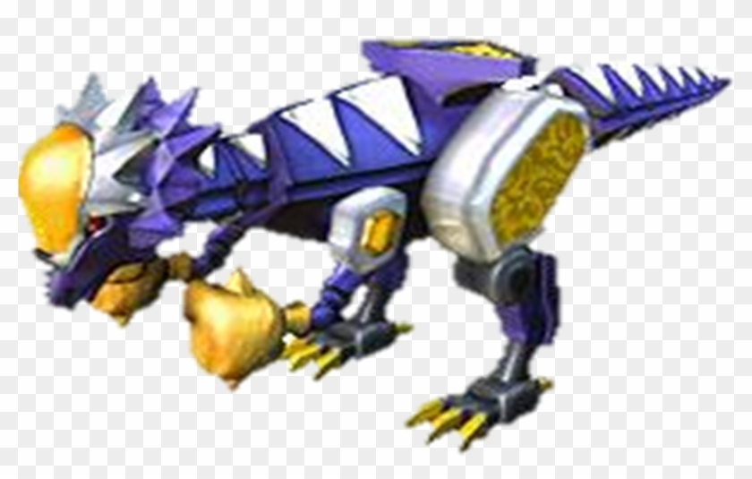 Power Rangers Dino Thunder Purple Ranger Zord - Power Rangers Dino Thunder Cephalazord #314727
