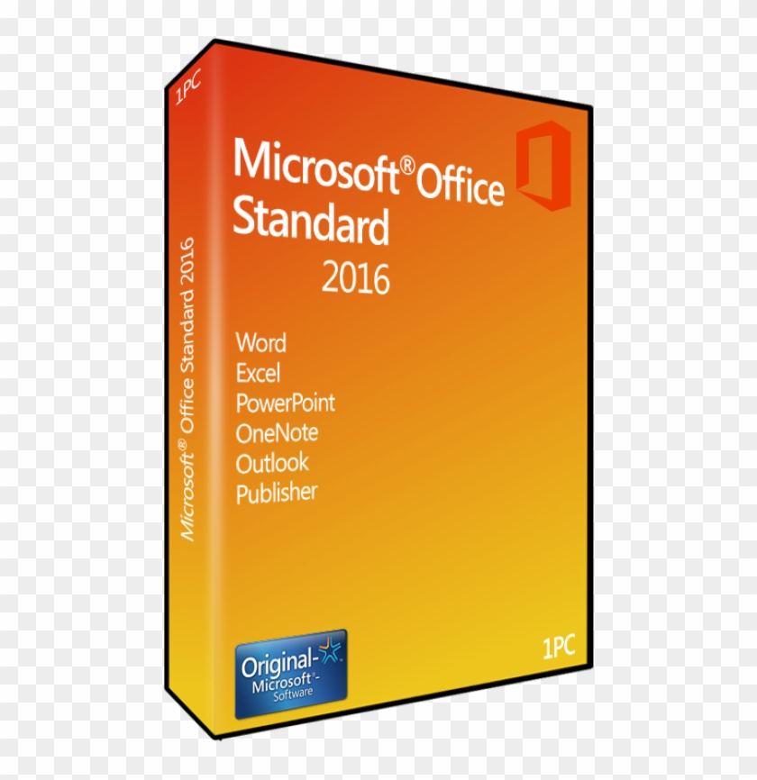 Microsoft Office 2016 Home & Business 1 Pc Licencia - Microsoft