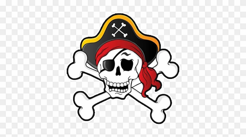 Preview - Pirate Skull And Crossbones Clipart #314785